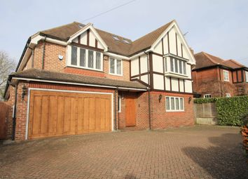 Thumbnail 6 bed detached house to rent in Hillview Road, Hatch End, Pinner