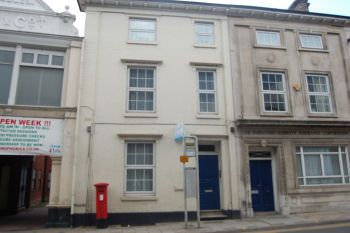 Thumbnail 1 bed flat to rent in Princes Street, Ipswich, Suffolk