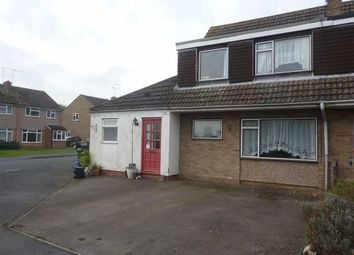 Thumbnail 4 bed semi-detached house for sale in Pine Tree Crescent, Southam