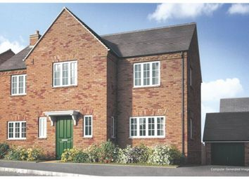 Thumbnail 4 bed detached house for sale in Stevington, Moorland Glade, Hillmorton, Rugby