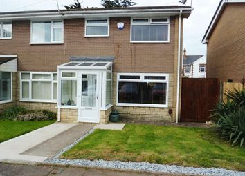 Thumbnail 3 bedroom semi-detached house for sale in Woodham Close, Barry