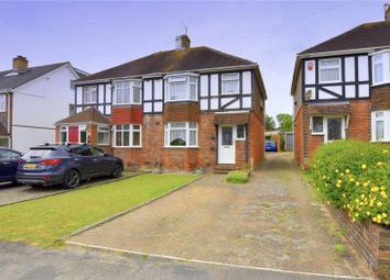 Thumbnail 3 bed semi-detached house for sale in Vale Avenue, Patcham, Brighton