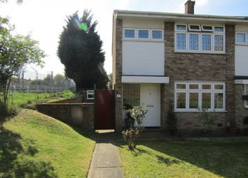 Thumbnail 3 bedroom end terrace house for sale in Cowdray Way, Hornchurch