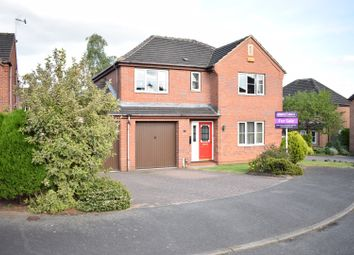Thumbnail 4 bed detached house for sale in Birch Grove, Mansfield