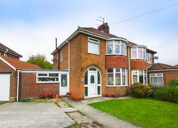 Thumbnail 3 bed semi-detached house for sale in Heslington Lane, York