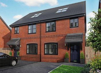 Thumbnail 4 bedroom town house for sale in Warburton Hey, Rainhill, Prescot