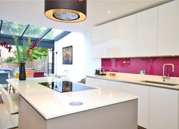 Thumbnail 5 bed town house to rent in Schubert Road, Putney, London