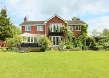 Thumbnail 4 bed detached house for sale in School Lane, Onneley, Cheshire