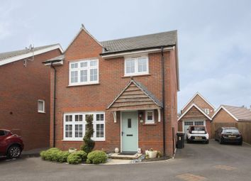 Thumbnail 4 bed detached house for sale in Downton Hall Close, Newport