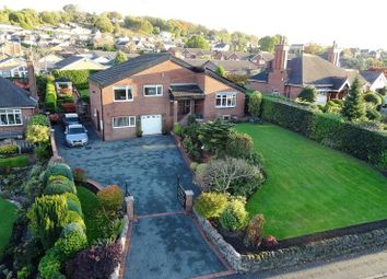 Thumbnail 4 bed detached bungalow for sale in Leek New Road, Stockton Brook, Staffordshire