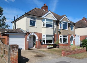 Thumbnail 3 bed semi-detached house for sale in Deben Avenue, Martlesham Heath, Ipswich