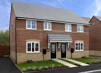 "Thumbnail 3 bedroom semi-detached house for sale in ""Finchley"" at Bearscroft Lane, London Road, Godmanchester, Huntingdon"