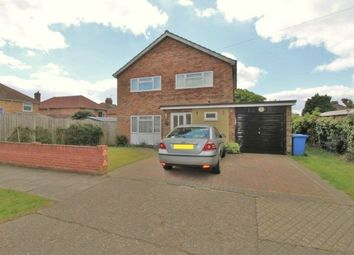Thumbnail 3 bed detached house for sale in Chesterfield Drive, Ipswich