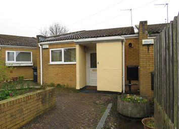 Thumbnail 1 bed semi-detached bungalow for sale in Twickenham Court, Corby