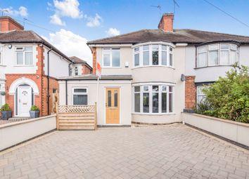 Thumbnail 3 bed semi-detached house for sale in Little Glen Road, Glen Parva, Leicester