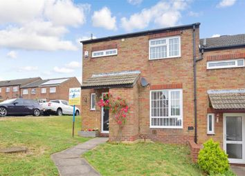 Thumbnail 3 bed end terrace house for sale in Ryde Close, Walderslade, Chatham, Kent