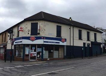 Thumbnail Retail premises for sale in 1 Bargoed Terrace, Treharris, Mid Glamorgan