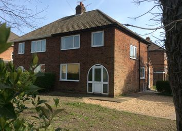 Thumbnail 3 bed semi-detached house to rent in The Mount, Driffield
