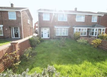Thumbnail 3 bed semi-detached house to rent in Whiteleas Way, South Shields