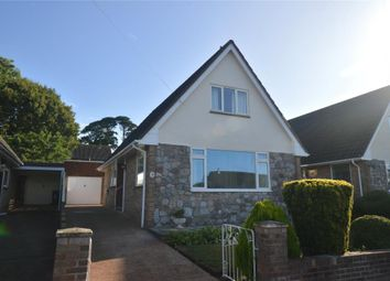 Thumbnail 3 bed detached bungalow for sale in Carberry Avenue, Exmouth, Devon