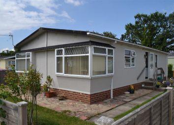 Thumbnail 2 bed mobile/park home for sale in Crookham Park, Crookham Common, Thatcham