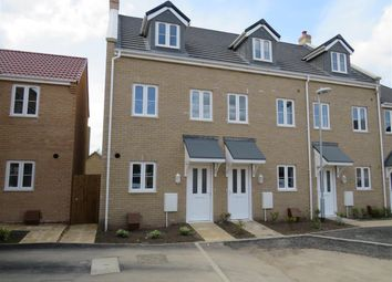 Thumbnail 3 bed terraced house for sale in Wittel Close, Whittlesey, Peterborough