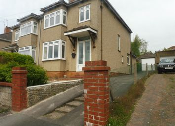 Thumbnail 3 bed semi-detached house for sale in Charnell Road, Staple Hill, Bristol