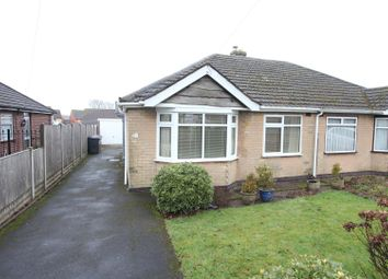 Thumbnail 2 bed semi-detached bungalow for sale in Hillside Road, Burbage, Hinckley
