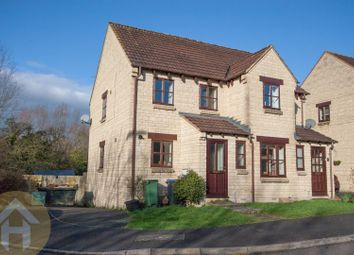 Thumbnail 3 bed semi-detached house for sale in Roebuck Close, Royal Wootton Bassett, Swindon