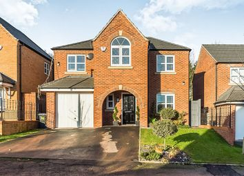 Thumbnail 4 bedroom detached house for sale in Bhullar Way, Tividale, Oldbury