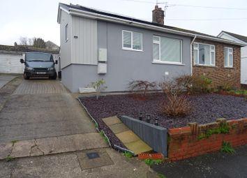 Thumbnail 2 bed semi-detached bungalow for sale in Tan-Y-Bryn, Pencoed, Bridgend