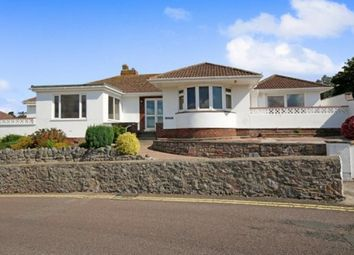 Thumbnail 3 bed detached bungalow for sale in Rock End Avenue, Torquay
