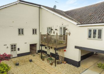 Thumbnail 3 bedroom terraced house for sale in Station Road, Pulham St. Mary, Diss