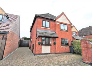Thumbnail 4 bed detached house for sale in Brighton Avenue, Syston, Leicester