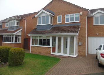 Thumbnail 4 bed detached house for sale in Shotley Court, Ashington