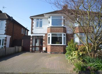 Thumbnail 3 bed semi-detached house for sale in Frankton Avenue, Styvechale, Coventry