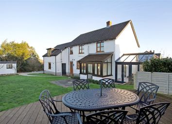 Thumbnail 4 bed detached house for sale in Saddlers Close, Crockernwell, Exeter