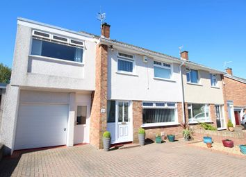 Thumbnail 4 bed semi-detached house for sale in Porset Drive, Caerphilly