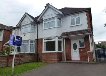 Thumbnail 3 bed property to rent in Garfield Road, Southampton