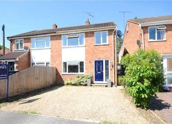Thumbnail 3 bed semi-detached house for sale in Lambourne Gardens, Earley, Reading