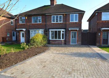 Thumbnail 3 bed semi-detached house for sale in Longmoor Lane, Breaston, Derby