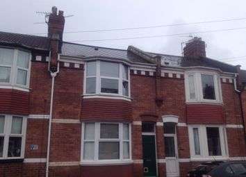 Thumbnail 3 bed terraced house to rent in Cedars Road, St. Leonards, Exeter