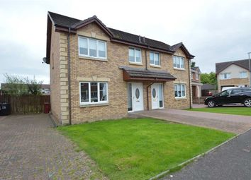 Thumbnail 3 bed semi-detached house for sale in St. Ninians Place, Stonehouse, Larkhall