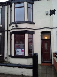 Thumbnail 3 bed terraced house to rent in Gloucester Road, Liverpool