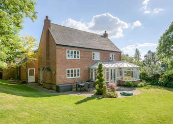 Thumbnail 4 bed detached house for sale in The Old Coach Road, Dunton Bassett, Lutterworth