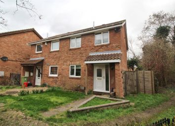 Thumbnail 3 bed semi-detached house for sale in Martin Close, Neath Hill, Milton Keynes