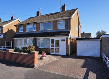 Thumbnail 3 bed semi-detached house for sale in Darwen Close, Leicester