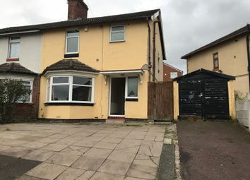 Thumbnail 3 bed semi-detached house to rent in Greenfield Road, Smethwick