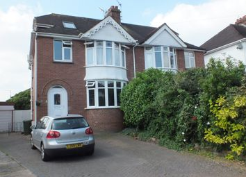 Thumbnail 4 bed semi-detached house to rent in Woodstock Road, Heavitree, Exeter, Devon