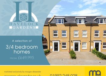 Thumbnail 4 bed terraced house for sale in Havelock Gardens, St Johns Street, Hertford
